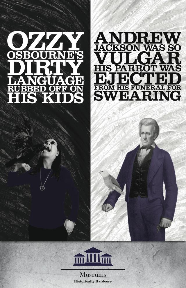 Historically Hardcore – Creative Student Posters