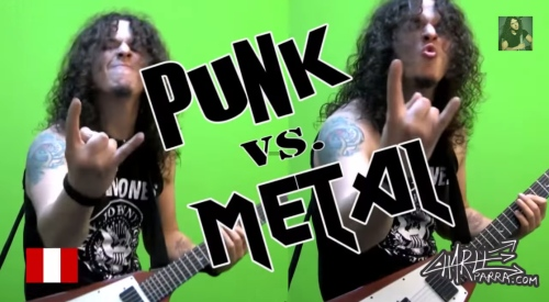 Punk vs. Metal