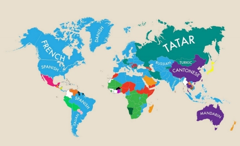 Second Languages Around the World