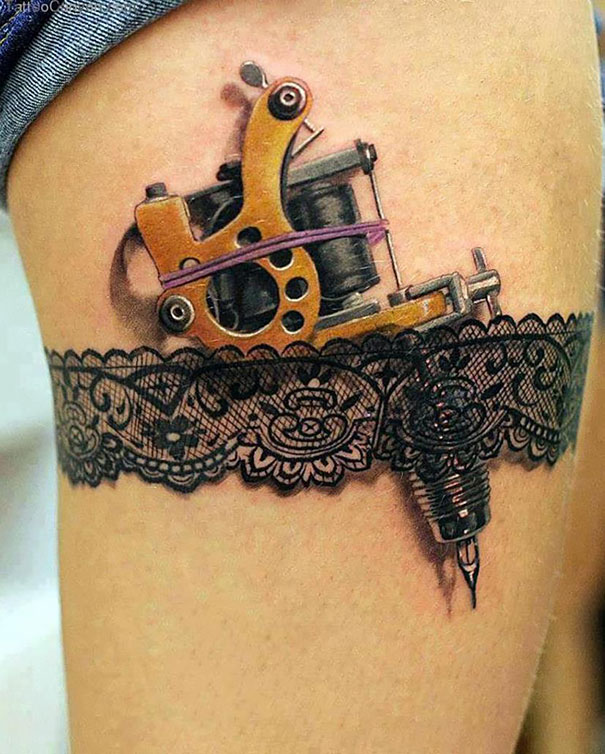 Awesome 3D Tattoos