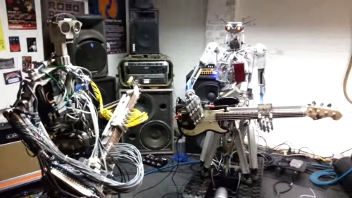 Robots Play Ace of Spades by Motörhead