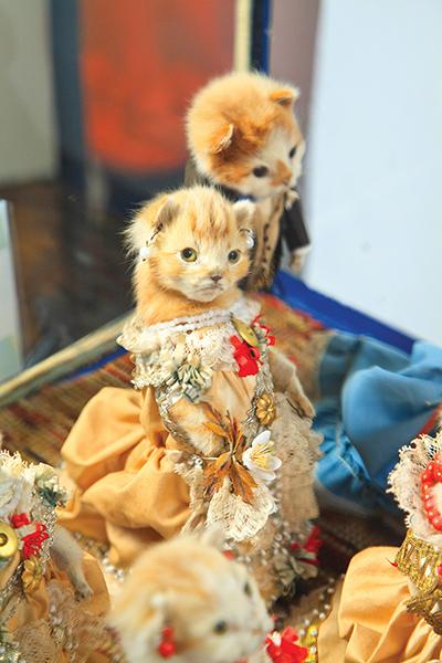 The Kittens' Wedding; c.1890