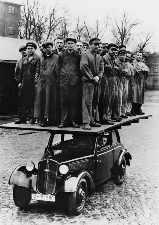 DKW advertisement, 1935