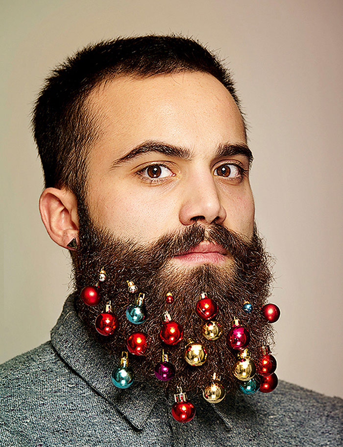 Christmas Gift Ideas 2014: Beard Baubles | Earthly Mission