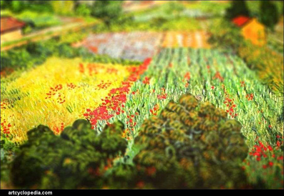 tilt-shift-van-gogh-field-with-poppies-detail