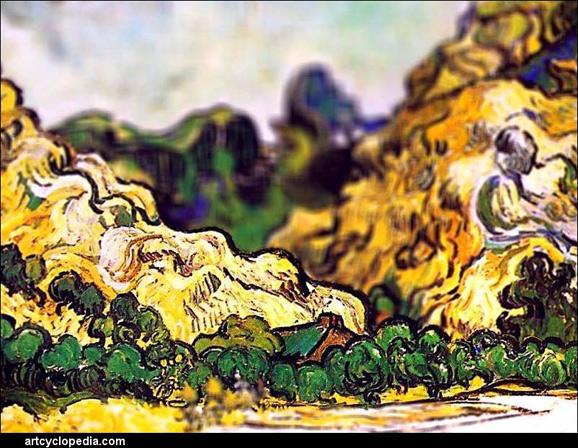 tilt-shift-van-gogh-mountains-at-saint-remy-detail