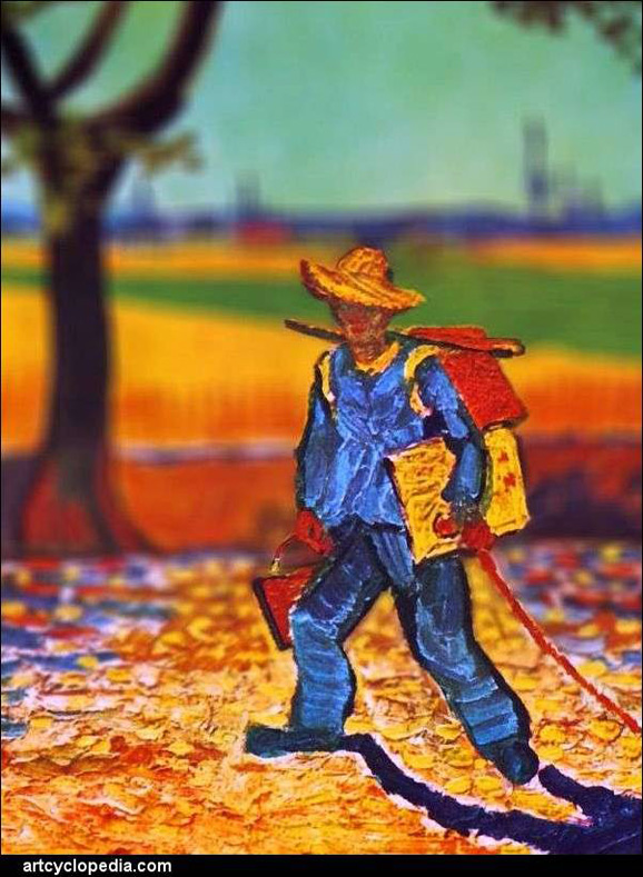 tilt-shift-van-gogh-the-painter-on-his-way-to-work-detail