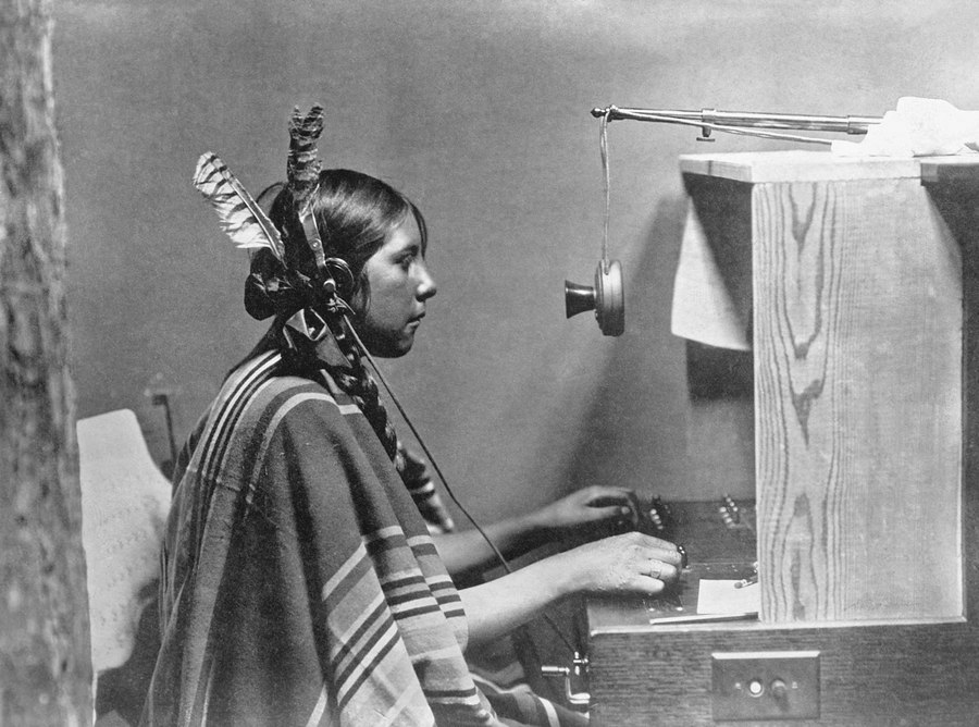 North                                                          American                                                          native                                                          switchboard                                                          operator,                                                          1925