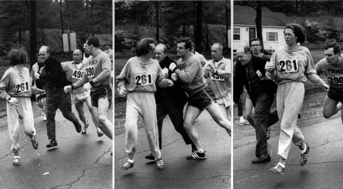1967 boston marathon woman removed