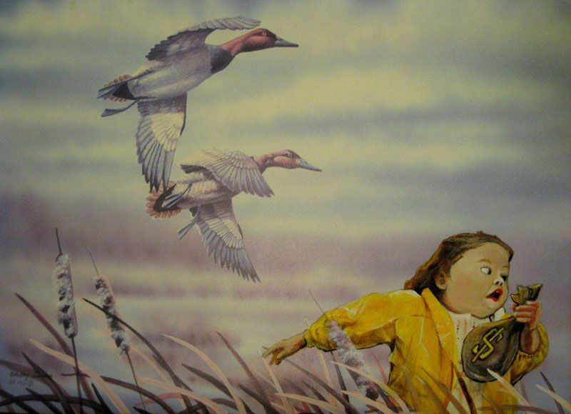 adding-characters-to-thrift-store-paintings-by-david-irvine-gnarled-branch-35