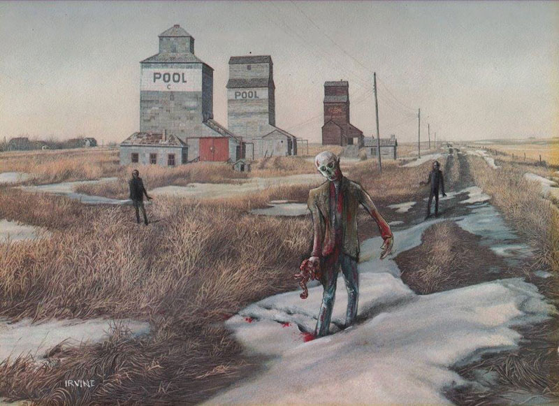 adding-characters-to-thrift-store-paintings-by-david-irvine-gnarled-branch-4