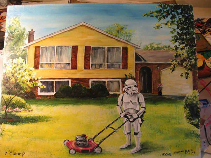 adding-characters-to-thrift-store-paintings-by-david-irvine-gnarled-branch-7