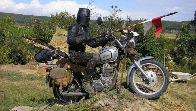 knight rider or how to sell your motorbike