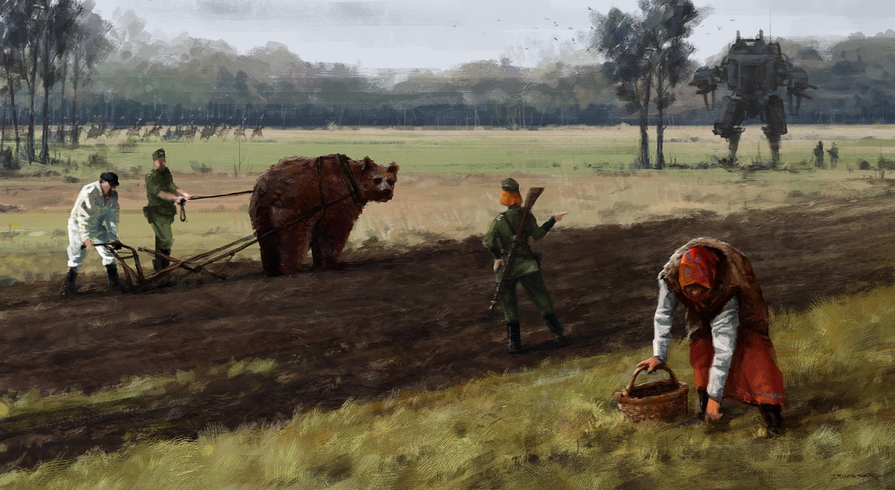 jakub_rozalski_oil_paintings_mechs_060115_11