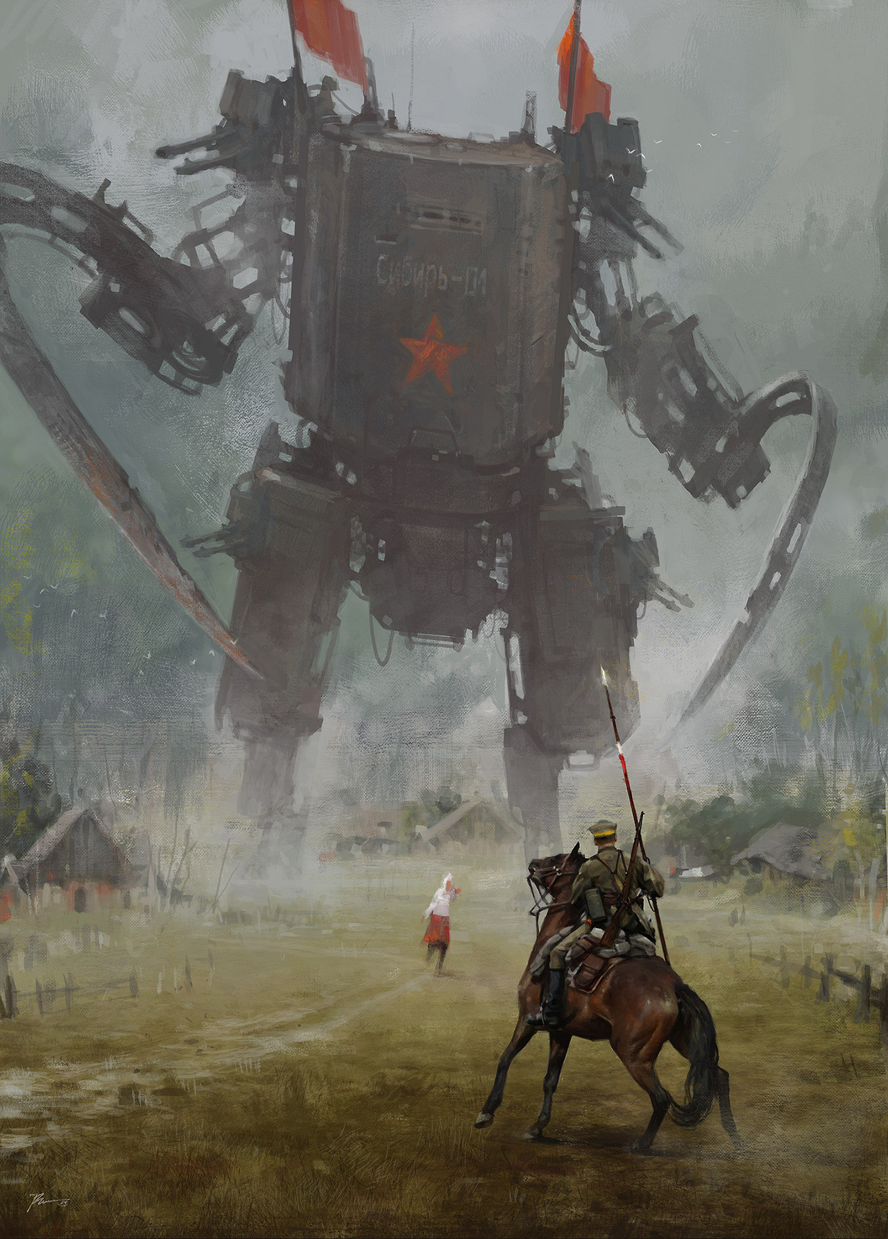 jakub_rozalski_oil_paintings_mechs_060115_3