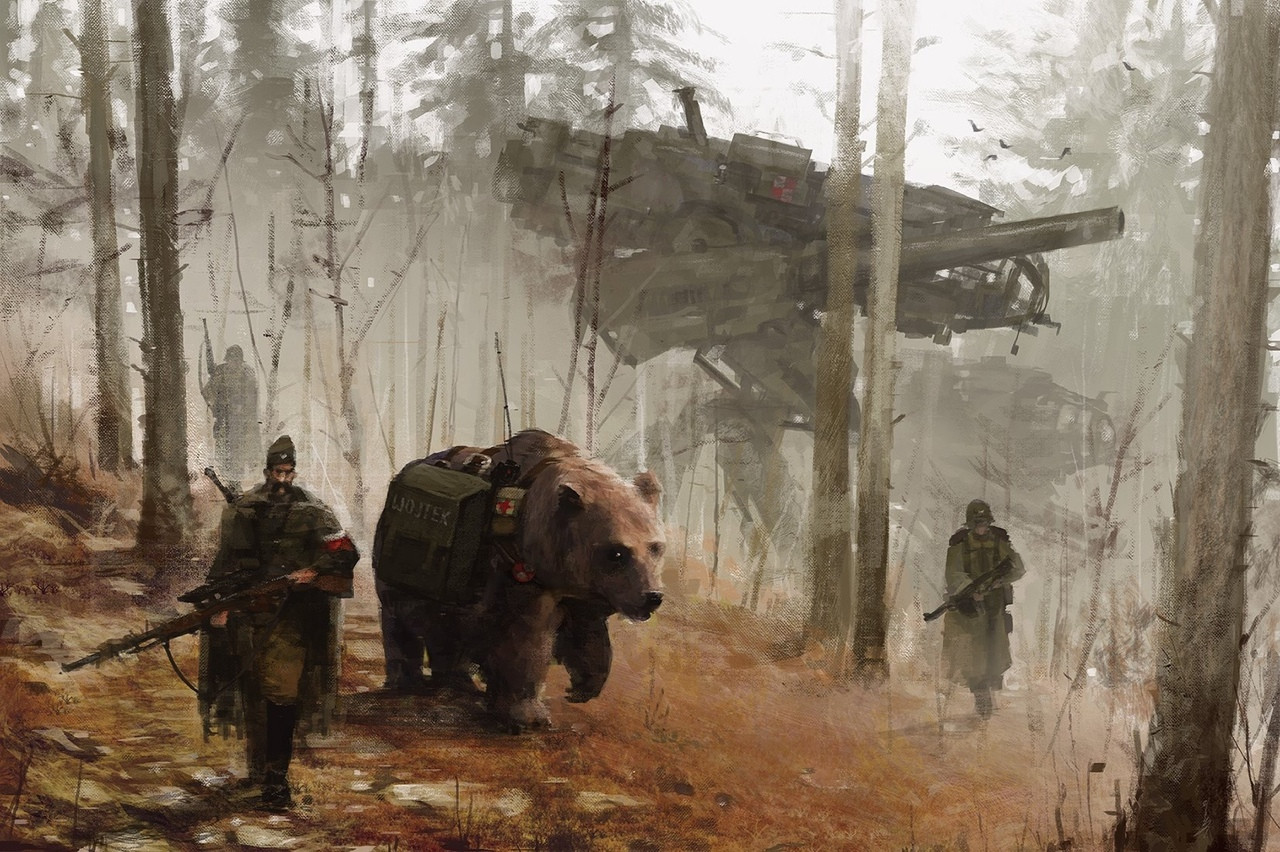 jakub_rozalski_oil_paintings_mechs_060115_6