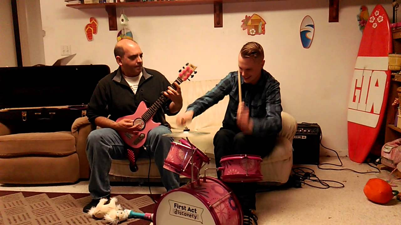 Slayer Mashup Played on Pink Kiddie Instruments