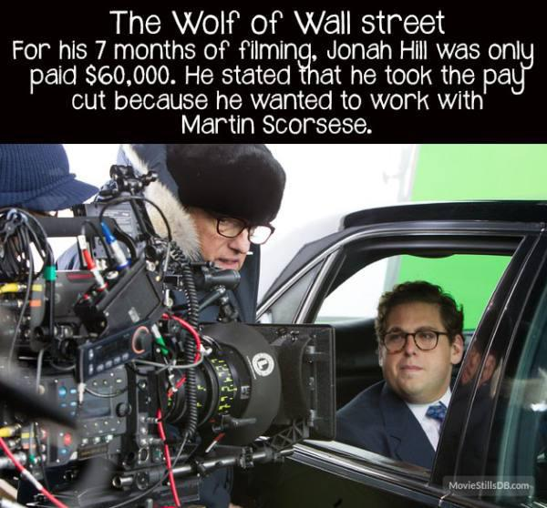 movie facts the wolf of wall street