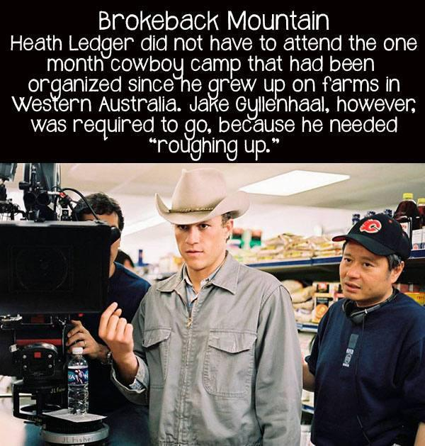 movie facts brokeback mountain