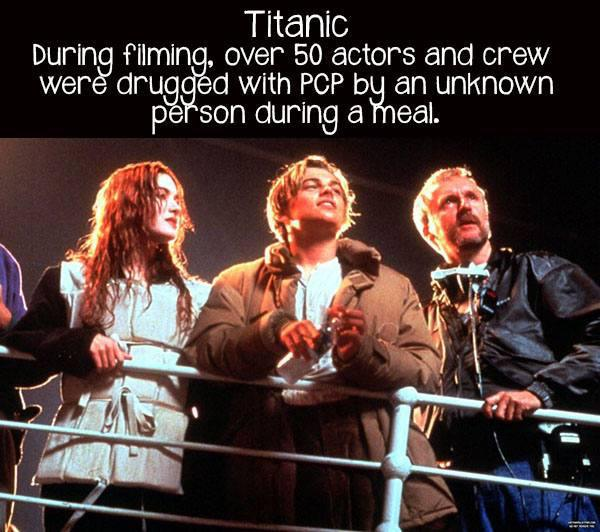 movie facts titanic