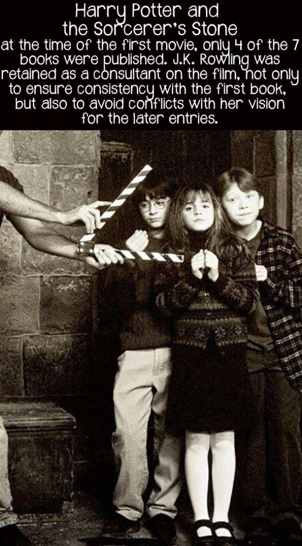 movie facts harry potter