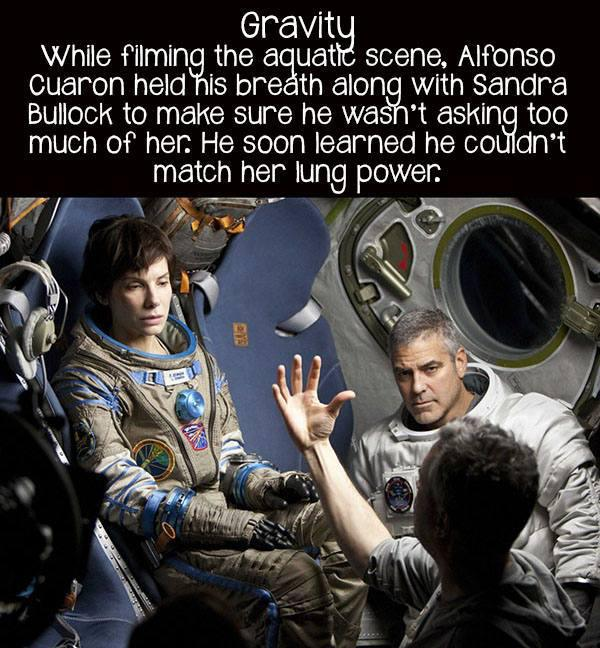 movie facts gravity
