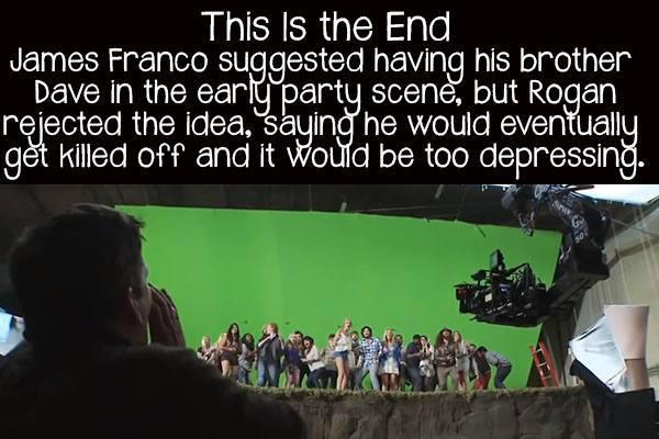 movie facts this is the end