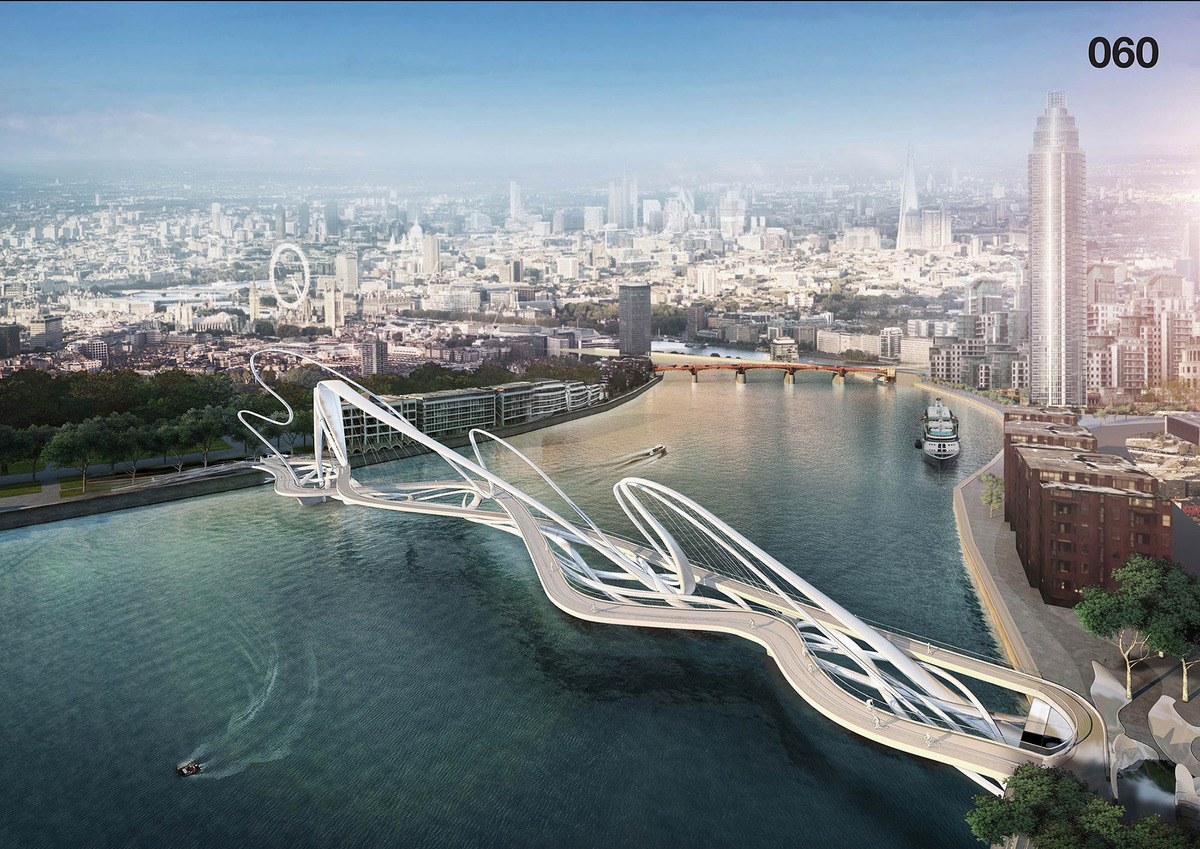 Toilet Designs Unusual Designs For New Thames Bridge In London Earthly