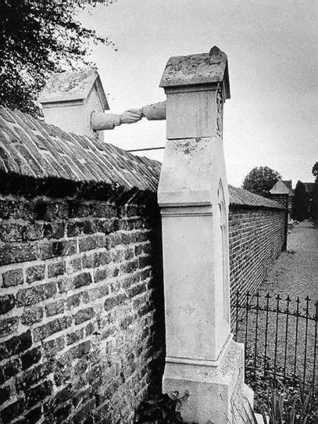 1888 The Graves of a Catholic woman and her Protestant husband, Holland (1888)