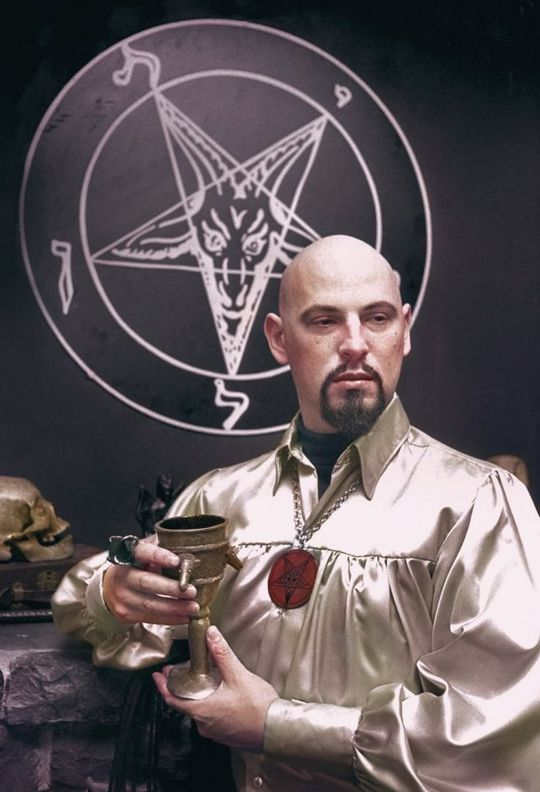 1970 Anton Szandor, founder and arch-priest of The Church of Satan