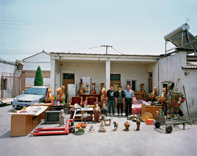 Home of Tang tricolor pottery makers, Nanshishan Village, Mengjin County, Luoyang City, Henan Province