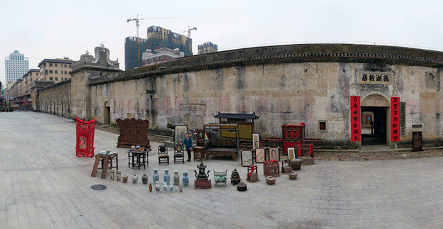 Home of a Hakka cultural relic collector, Shenzhen City, Guangdong Province