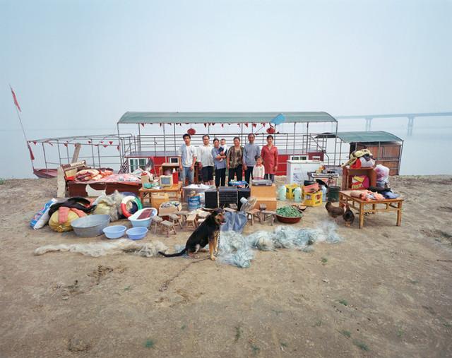 The Yellow River, Huayuankou Town, Zhengzhou City, Henan Province