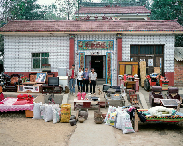 The home of a monkey trainer, Baowan Village, Fanji Township, Xinye County, Nanyang City, Henan Province