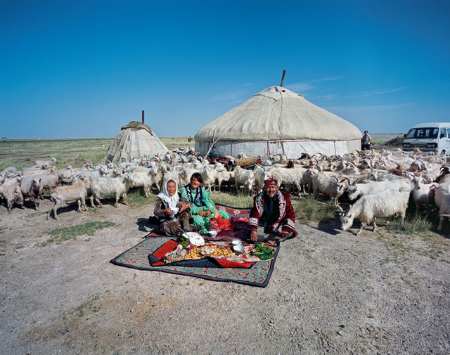 Unity Village, Aleteng County, Aksai Kazakh Autonomous County, Gansu Province