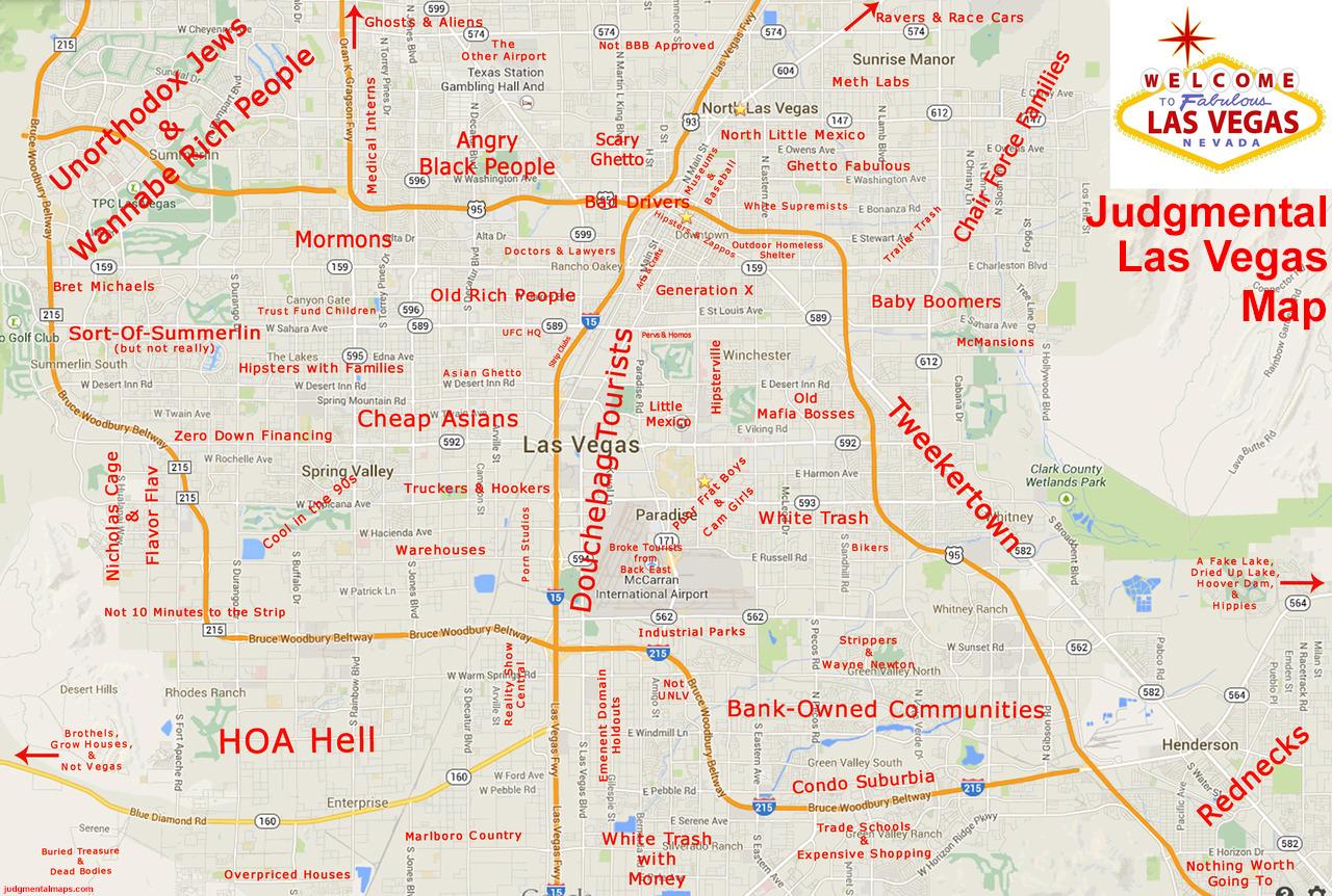 Beautiful Map Of Las Vegas Nv Photos - Printable Map - New ...