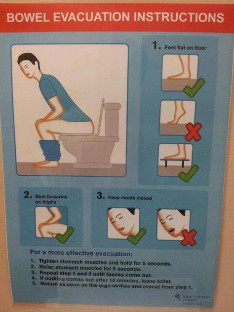 bowel-evacuation-instructions