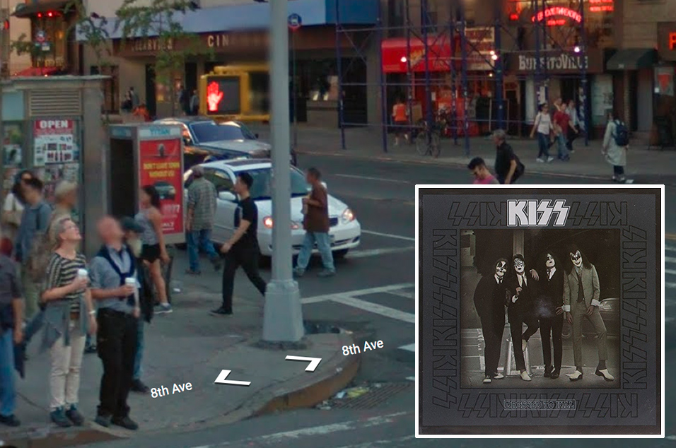 Kiss, 'Dressed to Kill' - 23rd St & Eighth Avenue, New York
