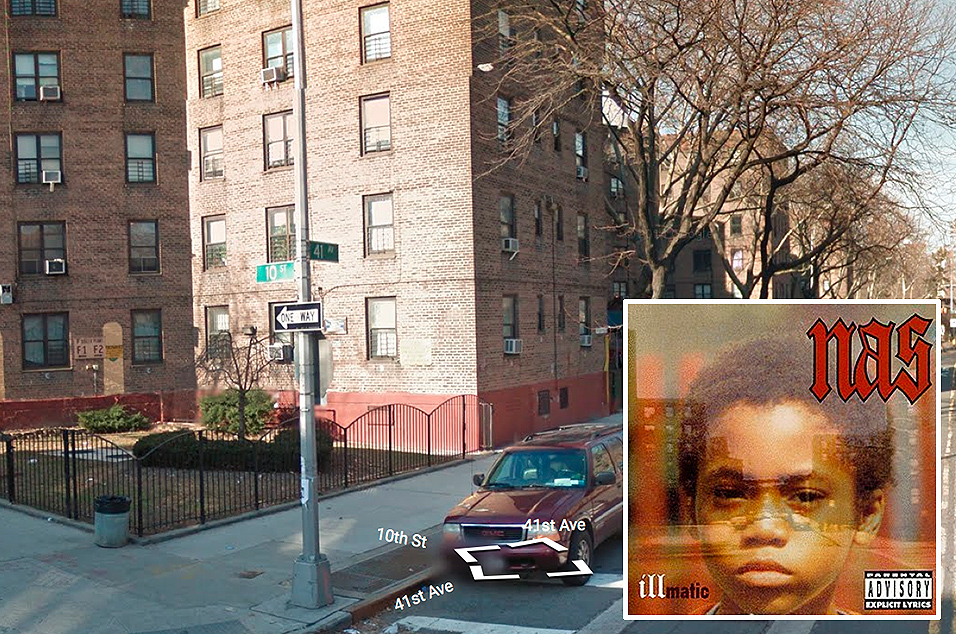 Nas, 'Illmatic' - 10th & 41st, Long Island