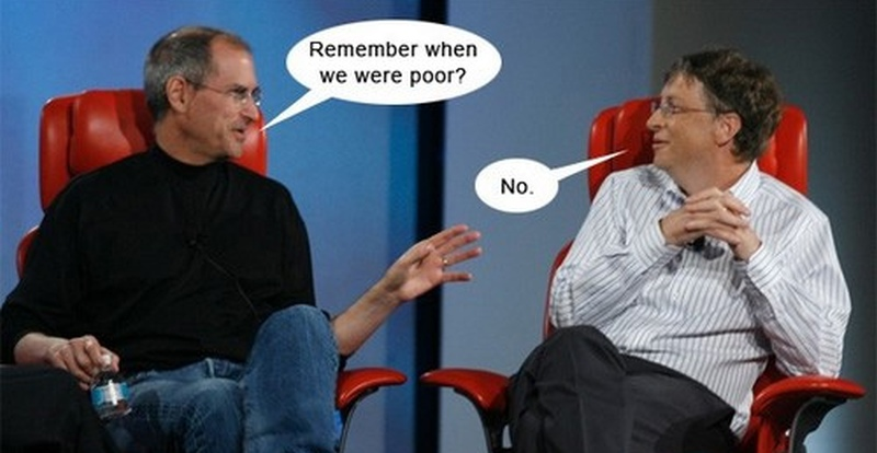funny-exchange-between-steve-jobs-and-bill-gates