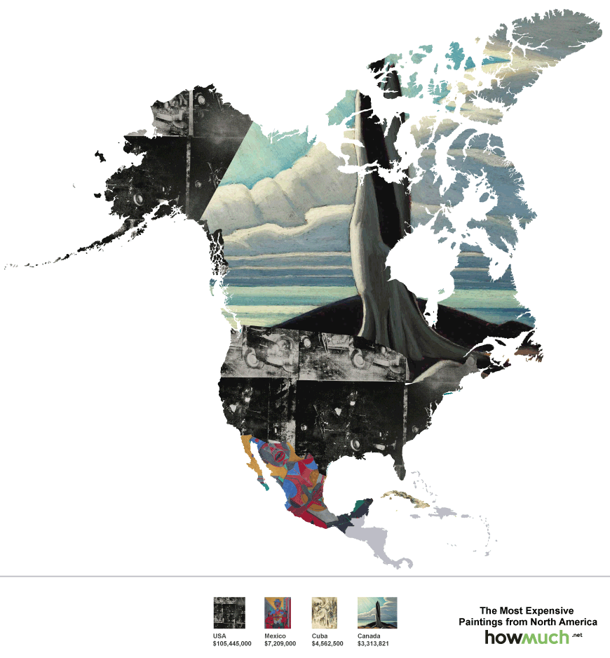most-expensive-paintings-by-continent_North America