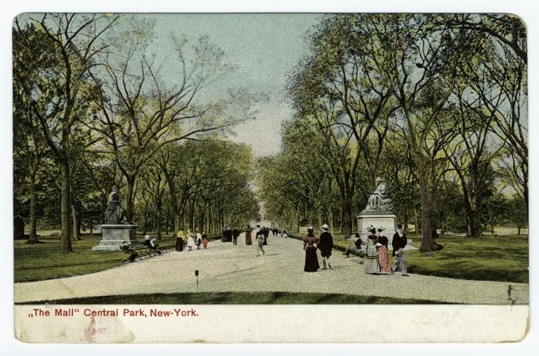 1890s-the-mall-central-park-new-york-1890s-colored-photomechanical-print-postcard-nypl (1)