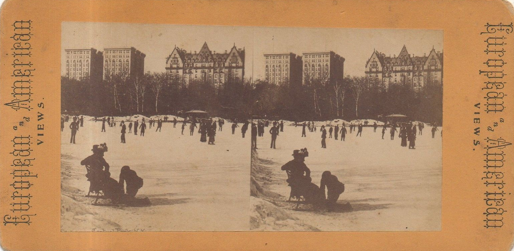 1896-Central-Park-Ice-Skating-on-the-Lake-Dakota-and-Majestic