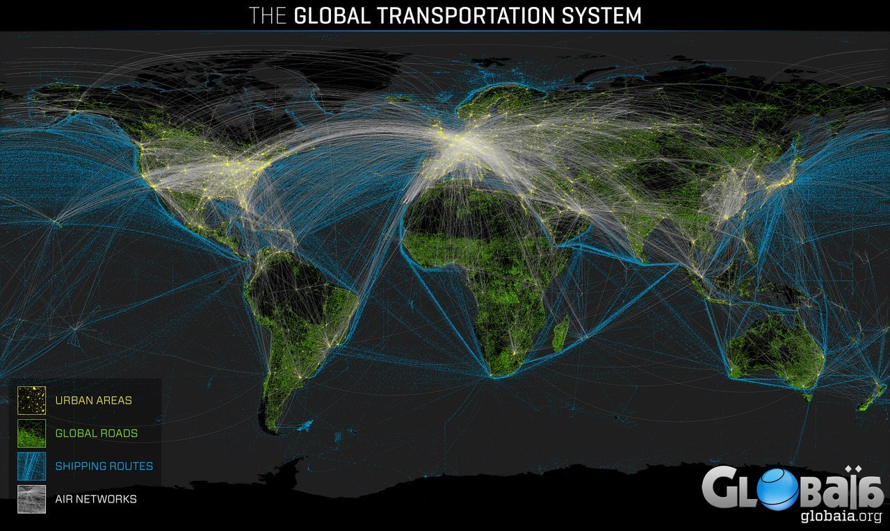 global-transportation-routes