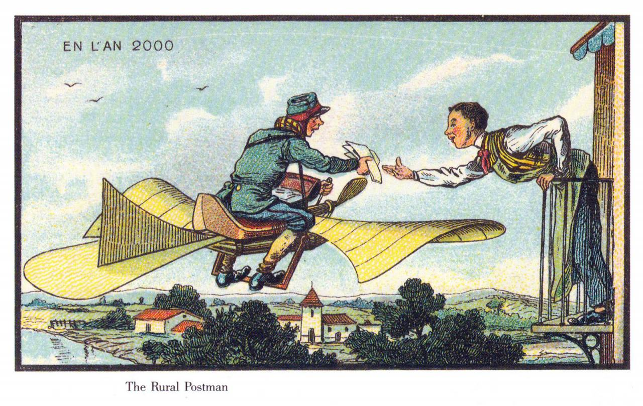 Visions Of Life In 2000 By French Artists In 1900