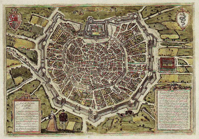 Amazing Maps Of Medieval Cities Earthly Mission