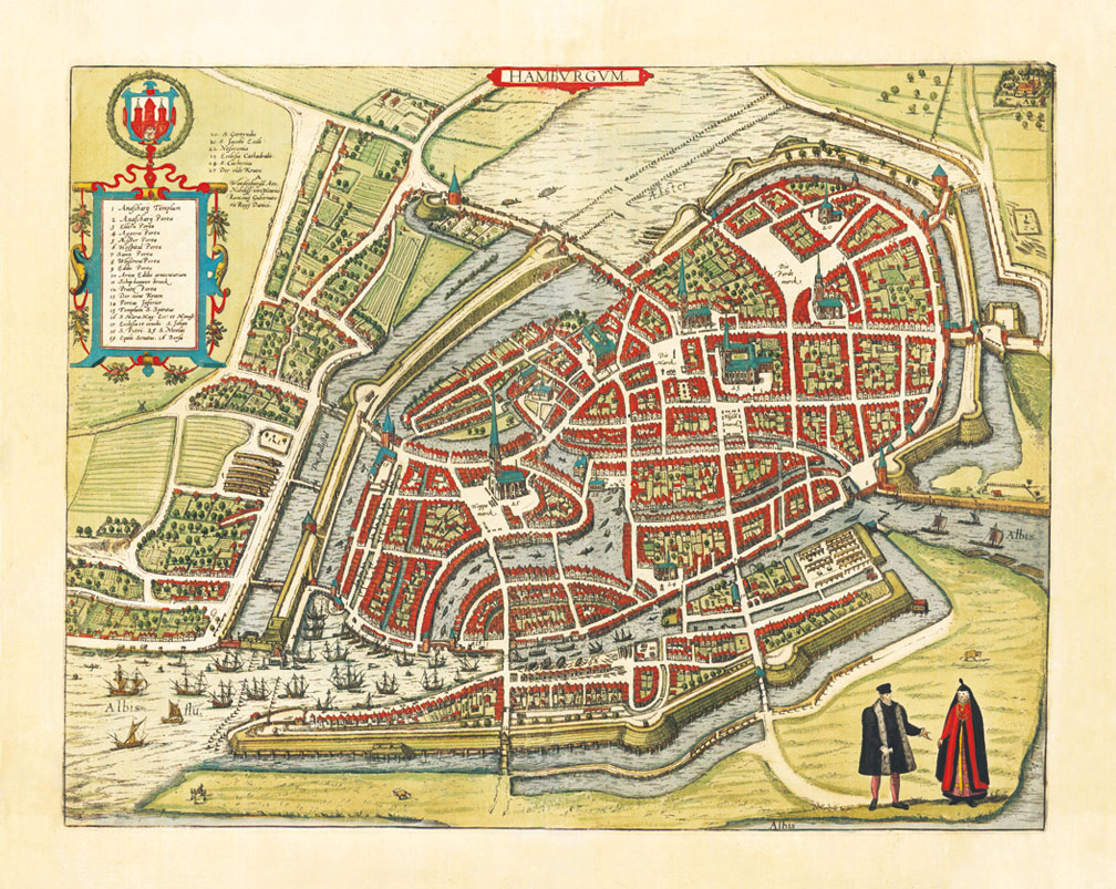 maps-of-medieval-cities-hamburg-1572