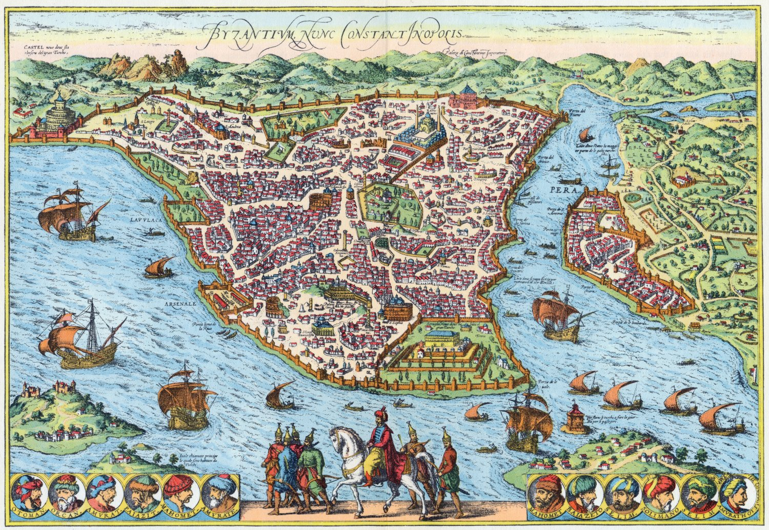 maps-of-medieval-cities-istanbul