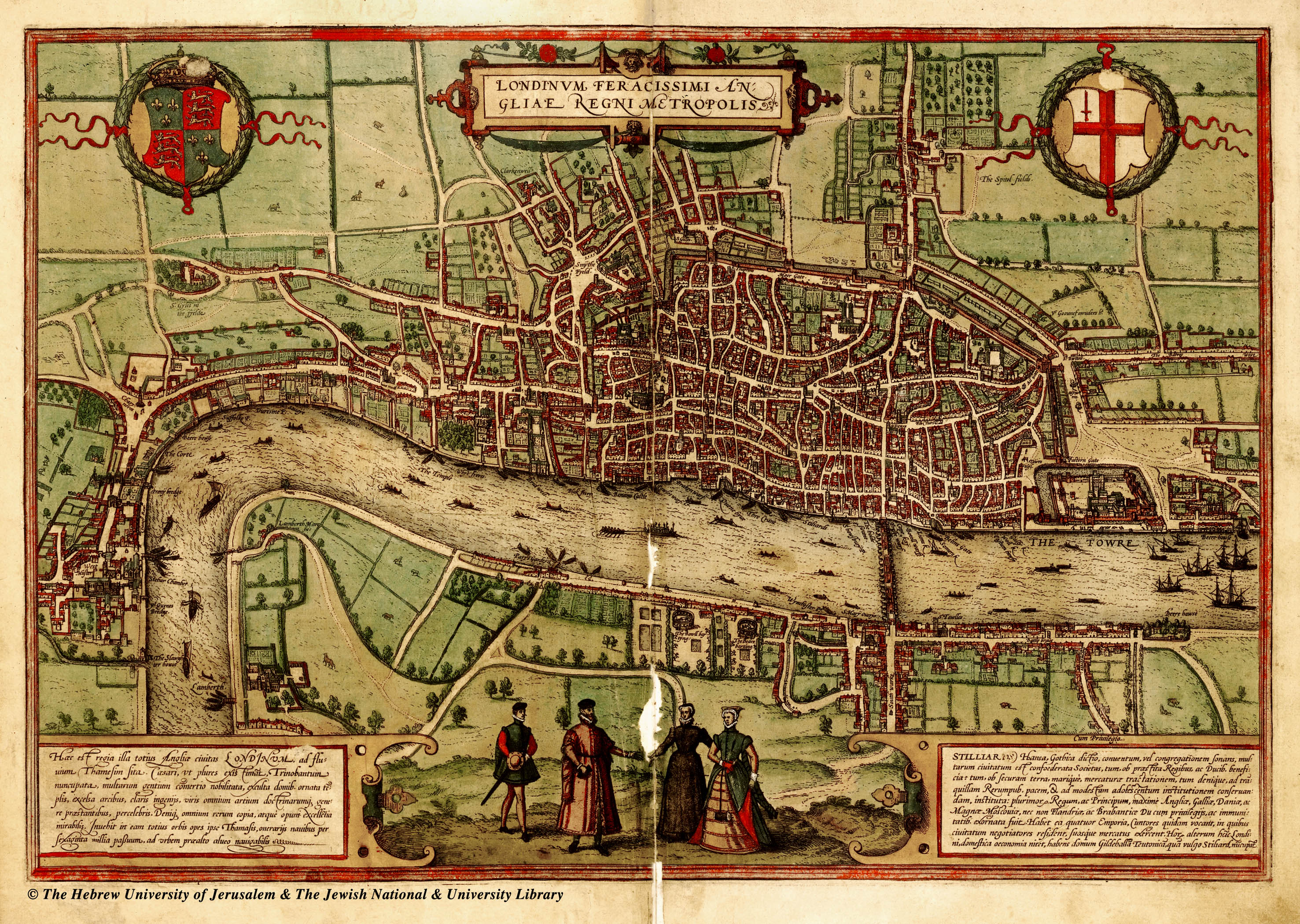 maps-of-medieval-cities-london-1560