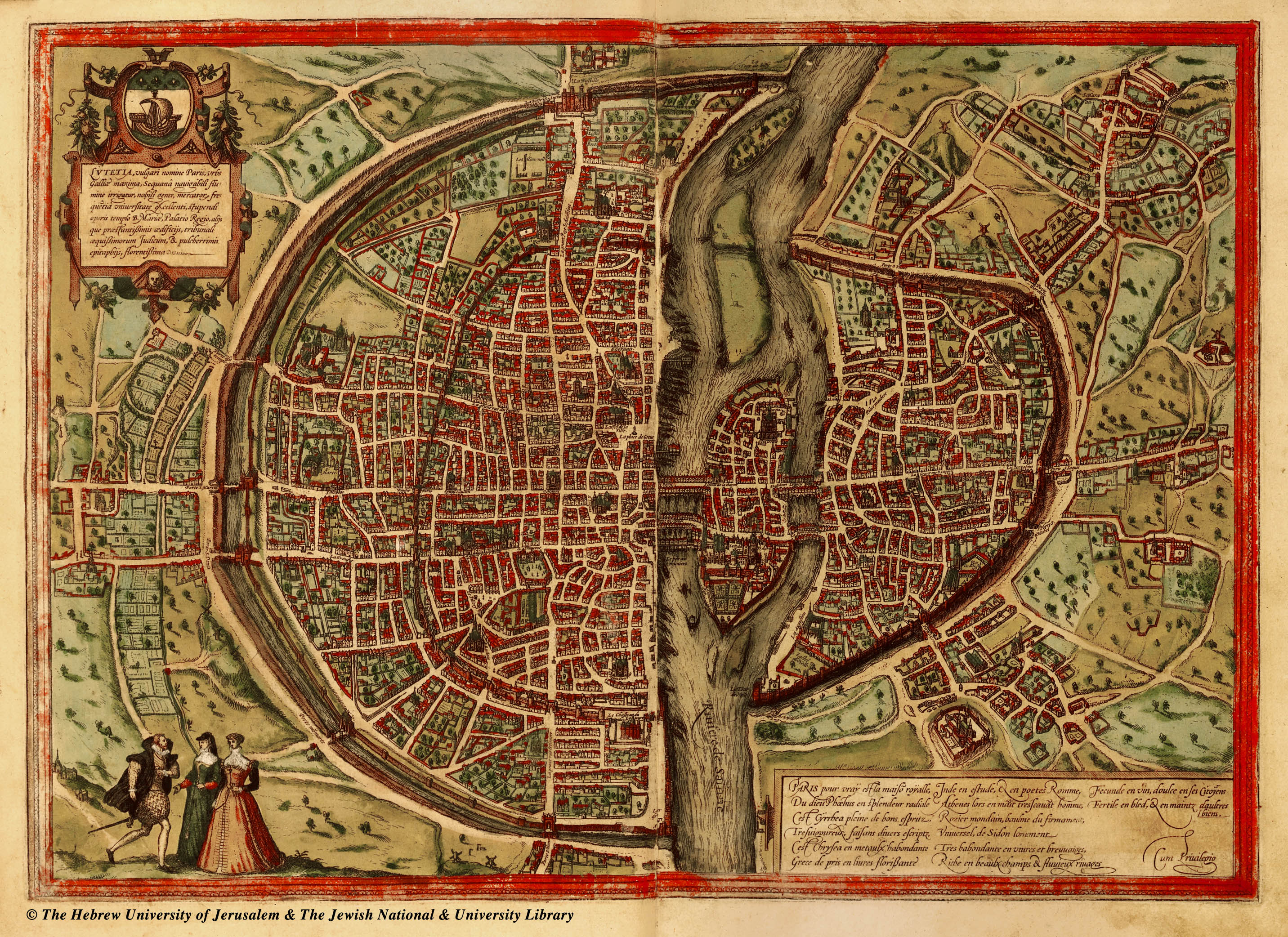 maps-of-medieval-cities-paris, 1569